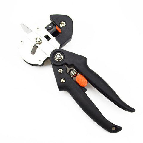 New Professional Bonsai Tree Fruit Grafting Tools Scissors Vaccination Cutting Pruner Secateurs Garden with 2 Blades