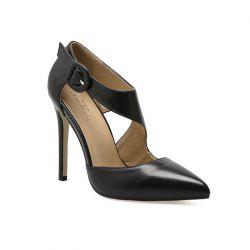Women'S Fashion Pointed Thin and Hollow Out Shoes -