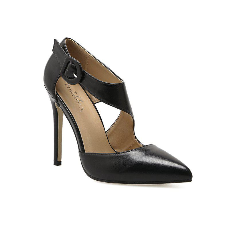 Shops Women'S Fashion Pointed Thin and Hollow Out Shoes