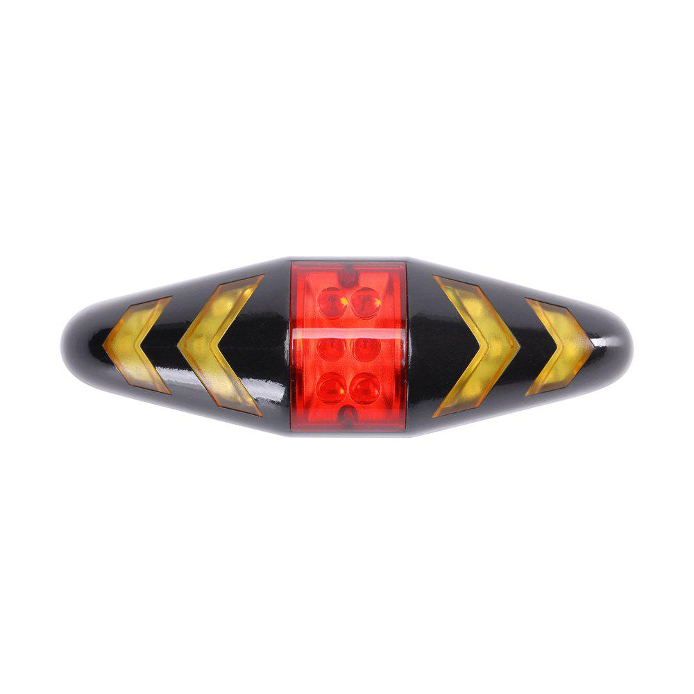 Cheap U'King ZQ-C1026 100LM Left Right Turn Indication Red Warning Rear Bike Lamp Tail Light