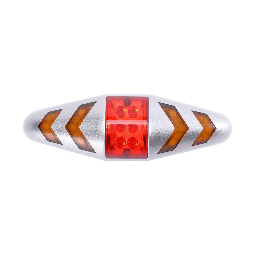 Outfit U'King ZQ-C1026 100LM Left Right Turn Indication Red Warning Rear Bike Lamp Tail Light