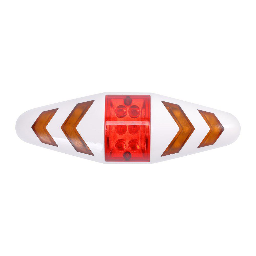 Online U'King ZQ-C1026 100LM Left Right Turn Indication Red Warning Rear Bike Lamp Tail Light