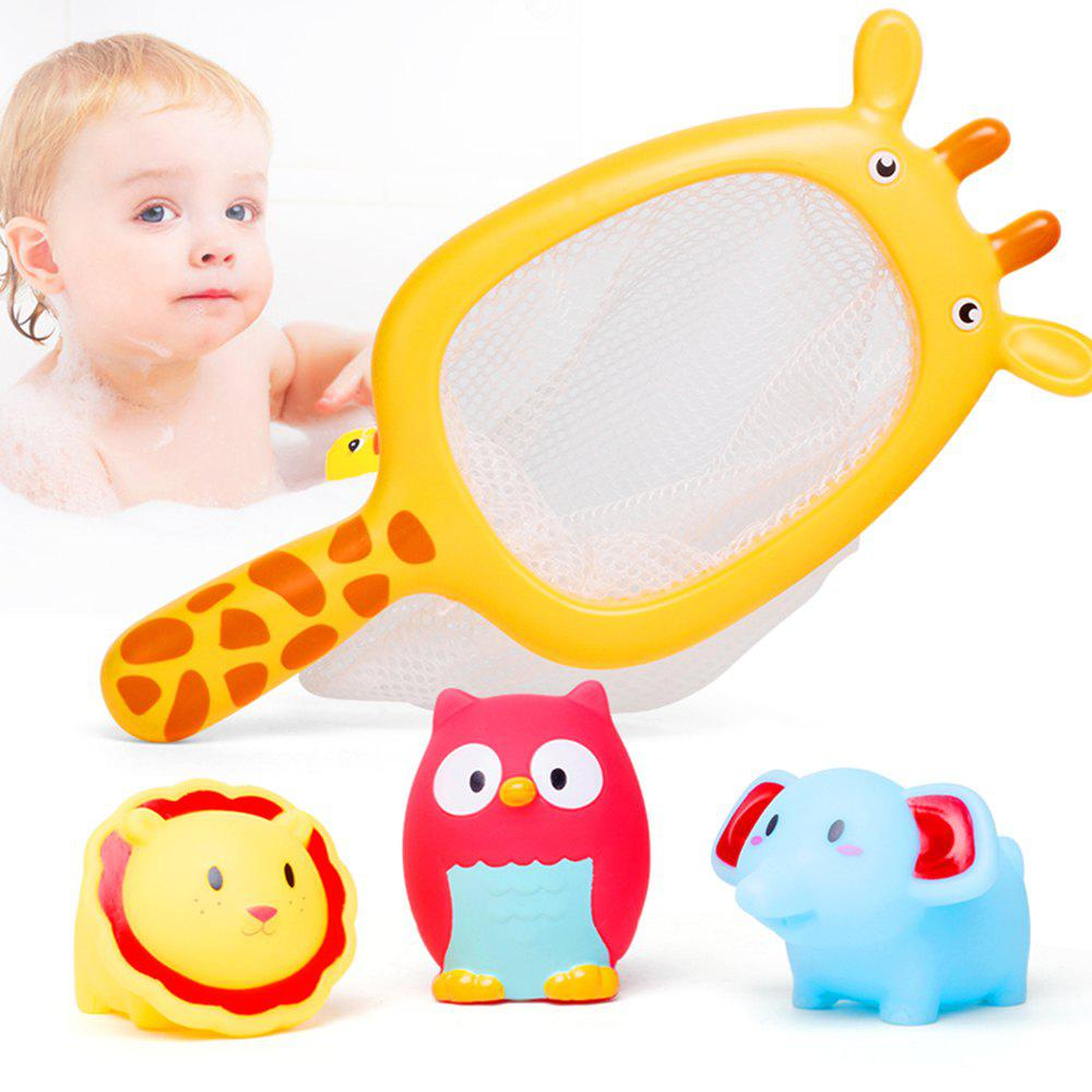 2018 Play Water Baby Bath Toys Rubber Duck Bathroom Toys Floating ...