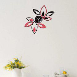 3D DIY Mirror Wallart Clock for Home Decoration -