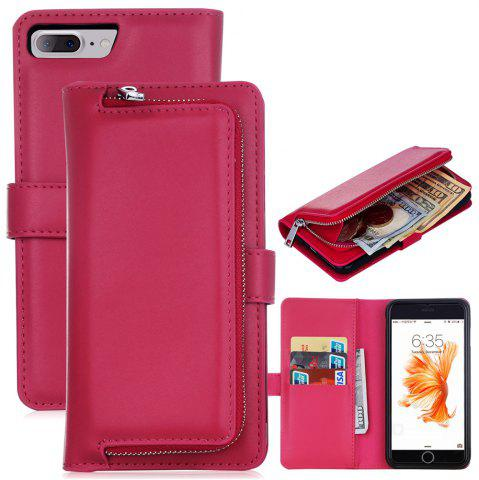 Best Leather Wallet with Card Holder Case Cover for iPhone 7 / 8 Plus