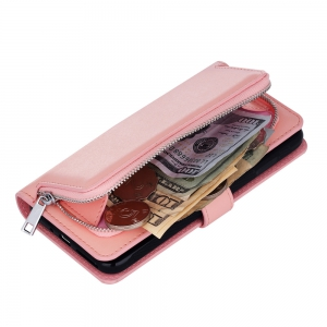 Leather Wallet with Card Holder Case Cover for iPhone 7 / 8 Plus -