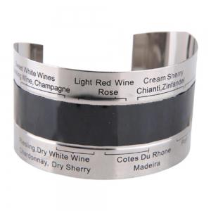 Hoard Stainless Steel Wine Bracelet Thermometer 4-26 Centigrade Degree Red Wine Temperature Sensor -