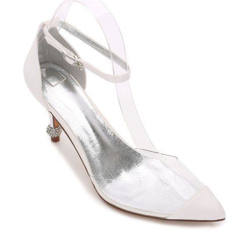 Hot 17767-21 Women's Shoes Wedding Shoes Pointed Toe Rhinestone Shoes