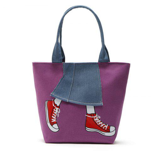 Discount Canvas Girl Jean's Skirt Design Women Handbag Shouder Bag