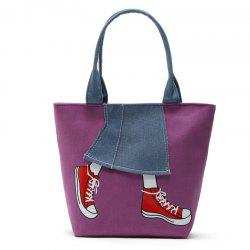 Canvas Girl Jean's Skirt Design Women Handbag Shouder Bag -