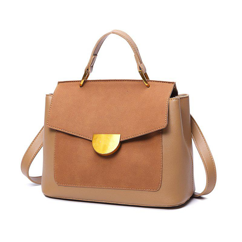 Chic Fashion Casual Pure Color Women's Handbag
