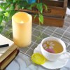 Set of 2pcs LED candle with Timer for Outdoor Using -
