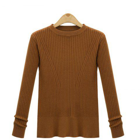 Best Leisure Fashion Style Long Sleeve Self Cultivation Pullover Sweater