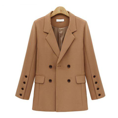 Shop Quick Sale of The European and American 2017 Autumn New Coat of A Long Style Women'S Suit