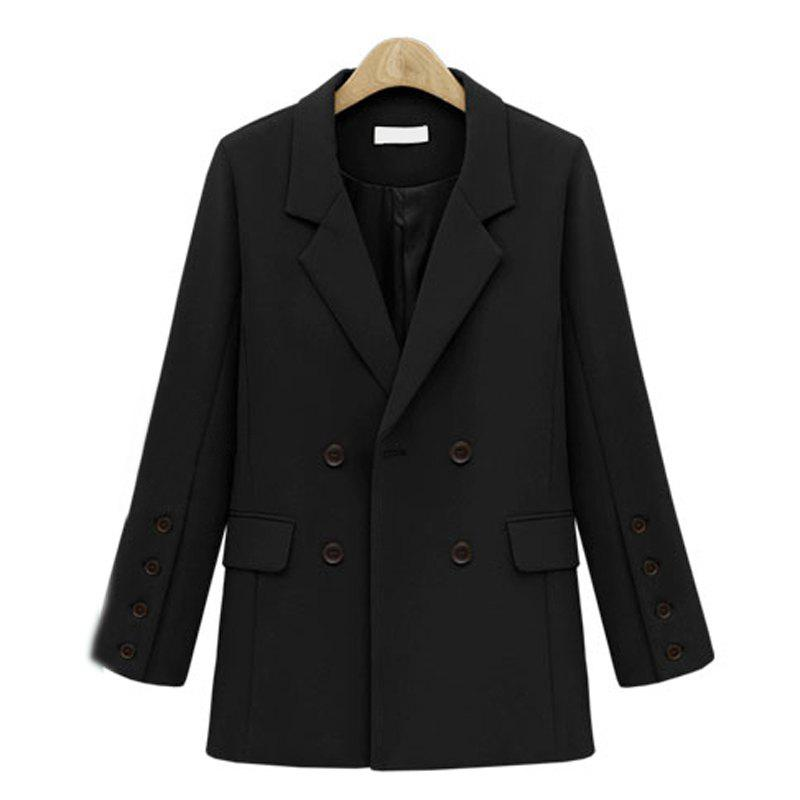 Outfit Quick Sale of The European and American 2017 Autumn New Coat of A Long Style Women'S Suit