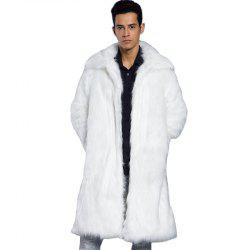 White Faux Fur Coat - Long, Full Length And Short Cheap With Free ...