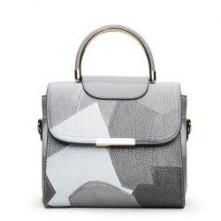 Fashion Color Mosaic Iron Portable Package Bags -