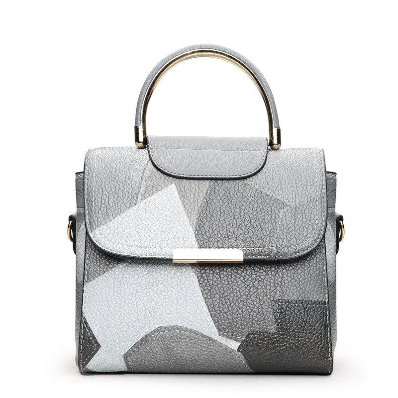 Buy Fashion Color Mosaic Iron Portable Package Bags