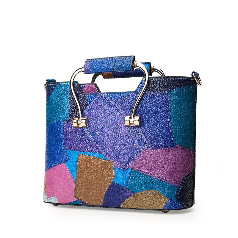 Latest Color Mosaic Iron Hand Small Package Bags