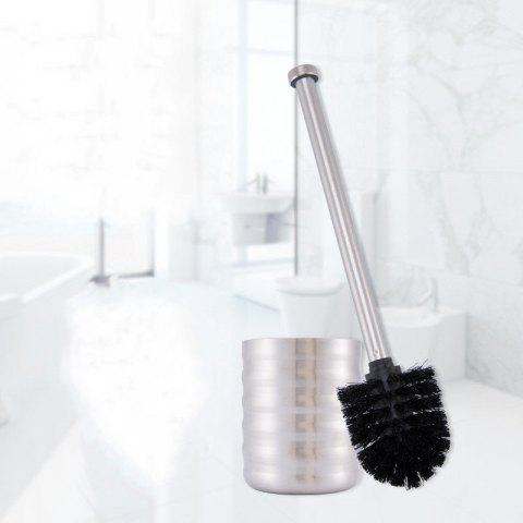 Fashion Stainless Steel Toilet Brush Bathroom Cleaning Brush Base WC Cleaning Accessory