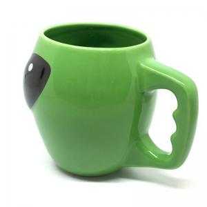 Green Mug Coffee Ceramic Cup Gift Funny Personality -