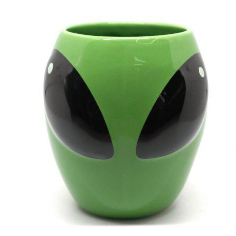 Latest Green Mug Coffee Ceramic Cup Gift Funny Personality