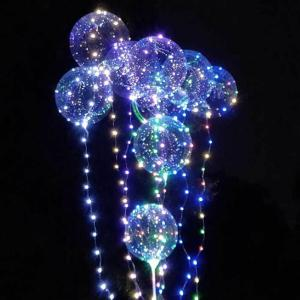 Bobo Balloon LED String Light for Christmas Party Decor - 3 x AA BATTERY POWERED -