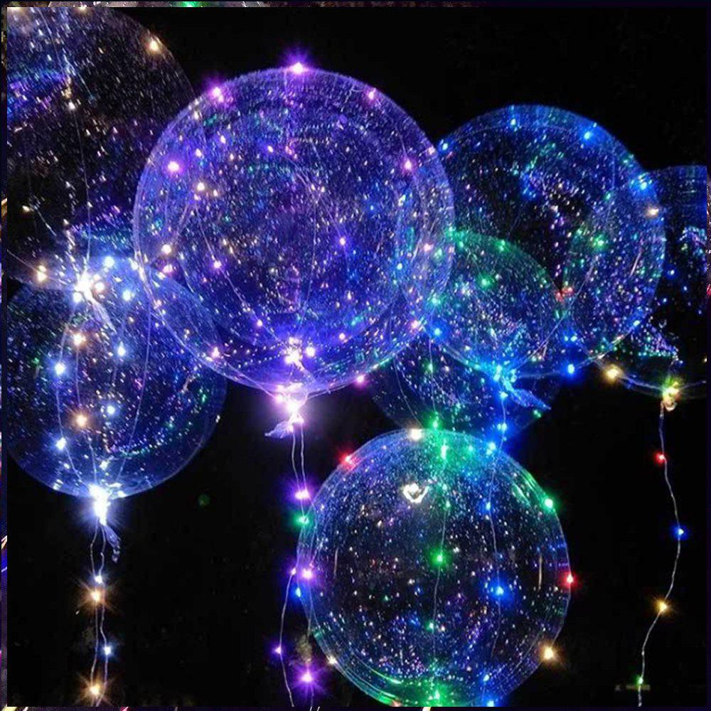 Affordable Bobo Balloon LED String Light for Christmas Party Decor - 3 x AA BATTERY POWERED