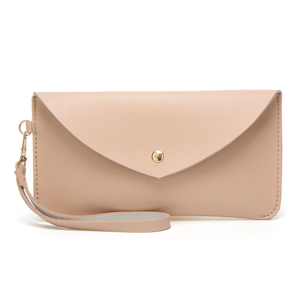 Discount Ladies Casual Wild Long Envelope Handbag