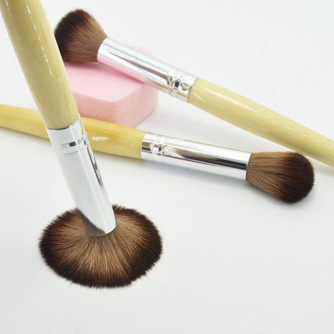 Latest KESMALL CO165 Makeup Brush Wooden Handle Blush Powder Brushes 1pc