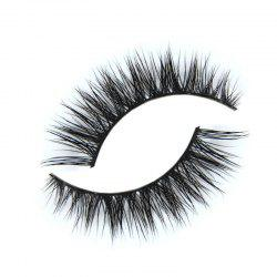 KESMALL CO607 False Eyelashes Natural 3D Fake Eye Lashes Makeup Tools 1Pair -