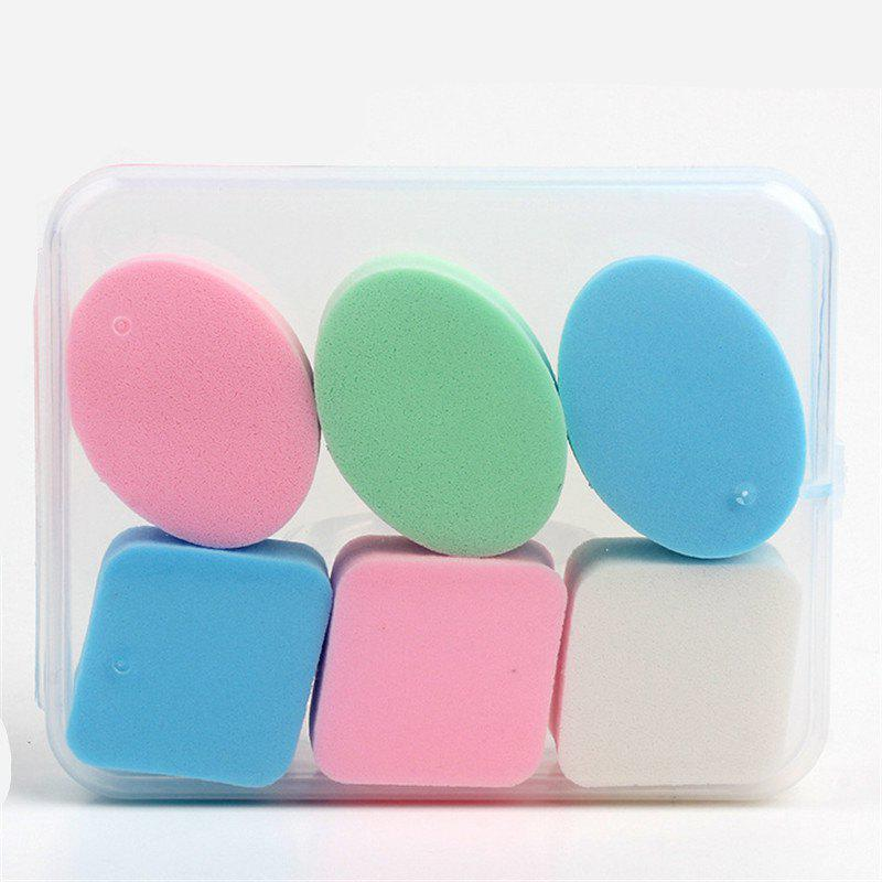 Shop KESMALL CO418 BB Cream Powder Sponge Beauty Cosmetic Puff Face Makeup Tools 6Pcs/Box