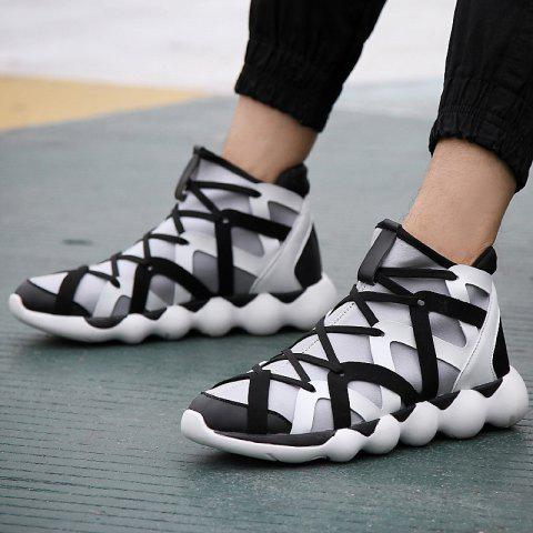 Fancy Men Winter Hip Hop Sport Shoes,leisure Outdoor Sport Sneakers.