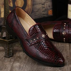 Men Autumn British Style Classic Leather Shoes, Party Shoes &Wedding Shoes Color:Black,Brown,Blue -