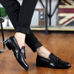 Flash Sale-Men Classic Leather Shoes,british Style Mens Party Shoes -