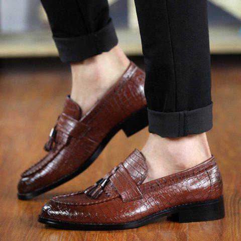 Latest Flash Sale-Men Classic Leather Shoes,british Style Mens Party Shoes