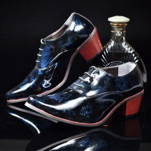 Men's Casual British Flats Oxford Wedding Leather Shoes& Party -