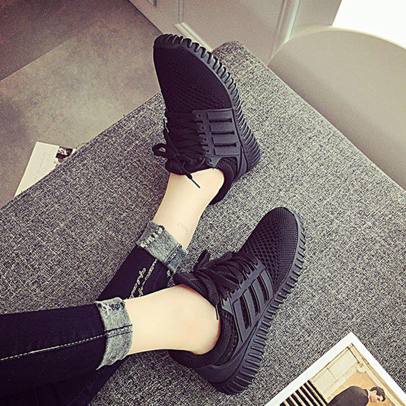 Shops Sneakers Shoes Woman 2016 New Fashion Flat with Breathable Women Shoes Style Mesh Women Casual Shoes