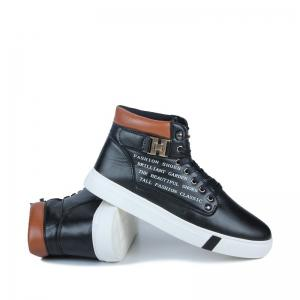 Winter Plus Cashmere Warm Men's Shoes Hip-hop Shoes -