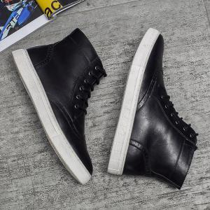 Fashion Hair Stylist Boots Men Boots Martial Arts Boots Trend Shoes -