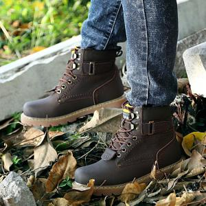 2017 New Martin Boots Snow Boots Men's Casual Shoes Shoes  Short Boots Army Boots -