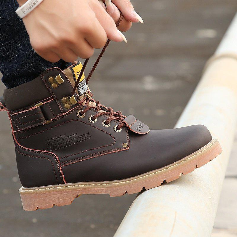 Cheap 2017 New Martin Boots Snow Boots Men's Casual Shoes Shoes  Short Boots Army Boots