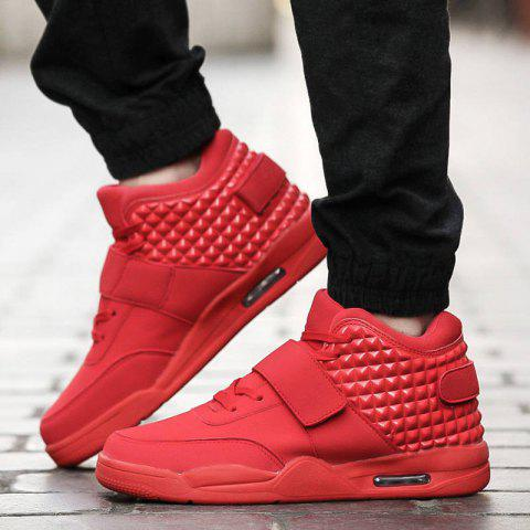 Unique Men Autumn Hip Hop Casual Shoes,Sport Shoes,Shoes for Men.Color: black, red,white