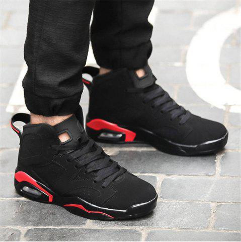 Unique Men Autumn and Winter Basketball Shoes, Cool Sneakers