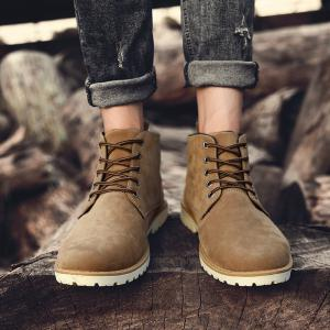 Men Autumn and Winter Casual Outdoor Ankle Boots -
