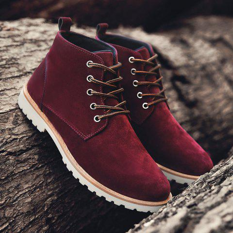 Trendy Men Autumn and Winter Casual Outdoor Ankle Boots