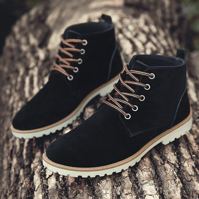 Affordable Men Autumn and Winter Casual Outdoor Ankle Boots