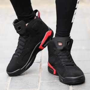 Men Autumn and Winter Basketball Shoes Outdoor Hip Hop Shoes -