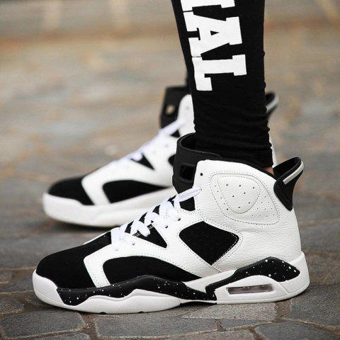 Buy Men Autumn and Winter Basketball Shoes Outdoor Hip Hop Shoes