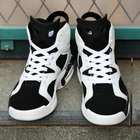 Chic Men Autumn and Winter Basketball Shoes Outdoor Hip Hop Shoes